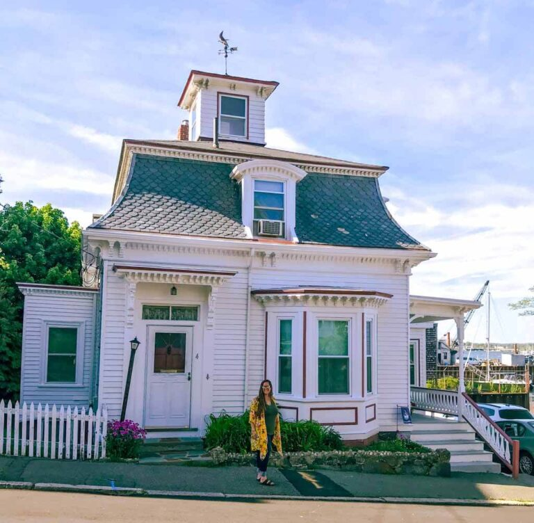 Hocus Pocus filming location in Salem - Max and Dani house